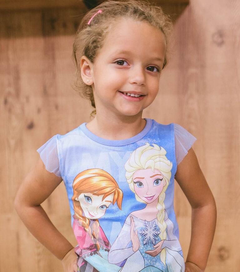 Blusa Infantil Frozen